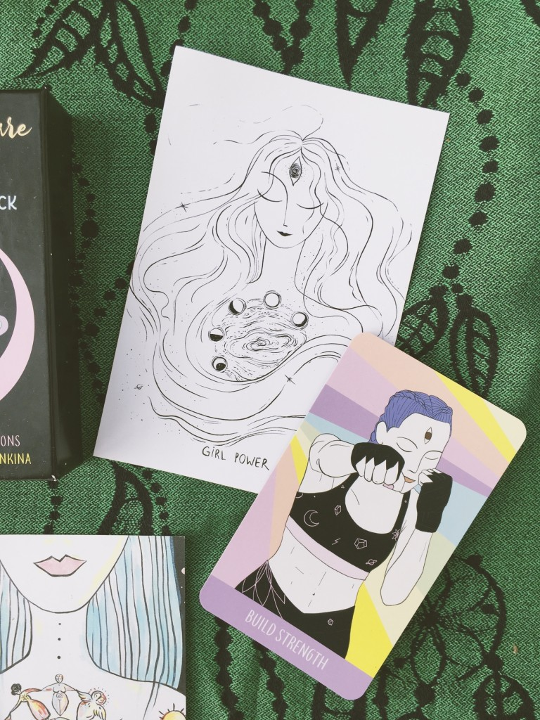 sacred self-care rituals oracle deck купить