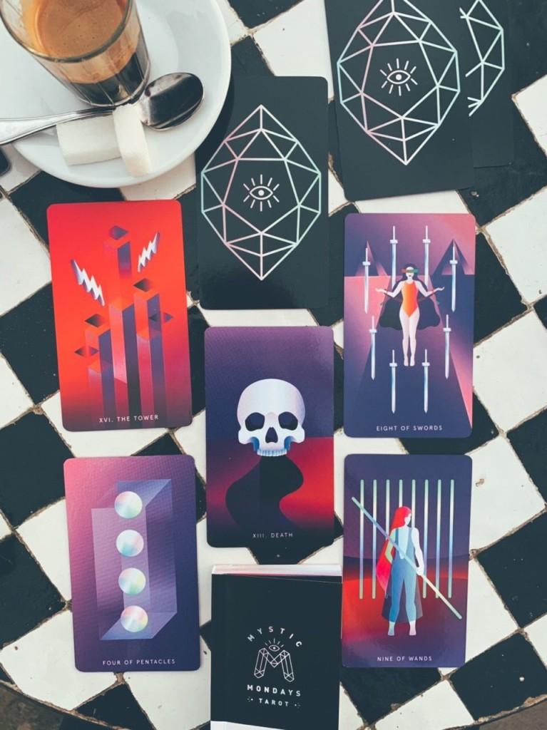 mystic mondays tarot купить