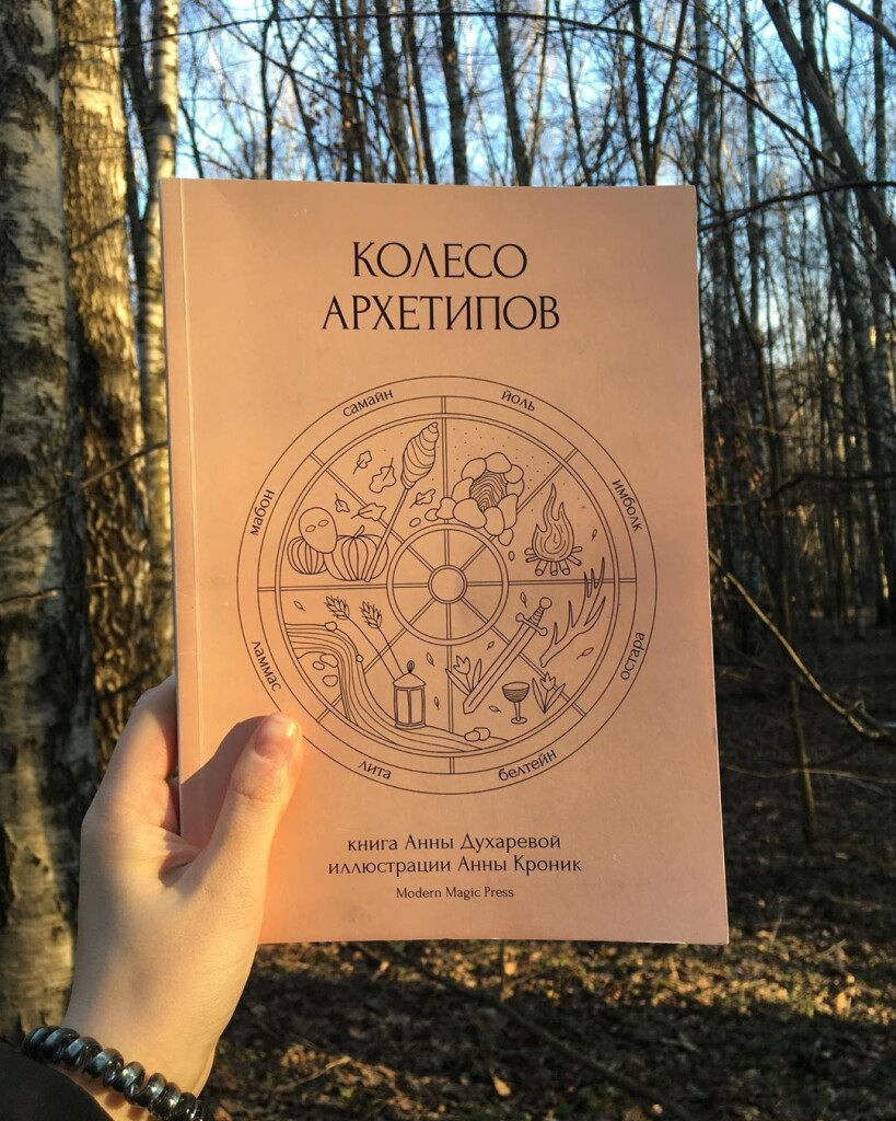 Колесо Архетипов книга издательство Modern Magic Press