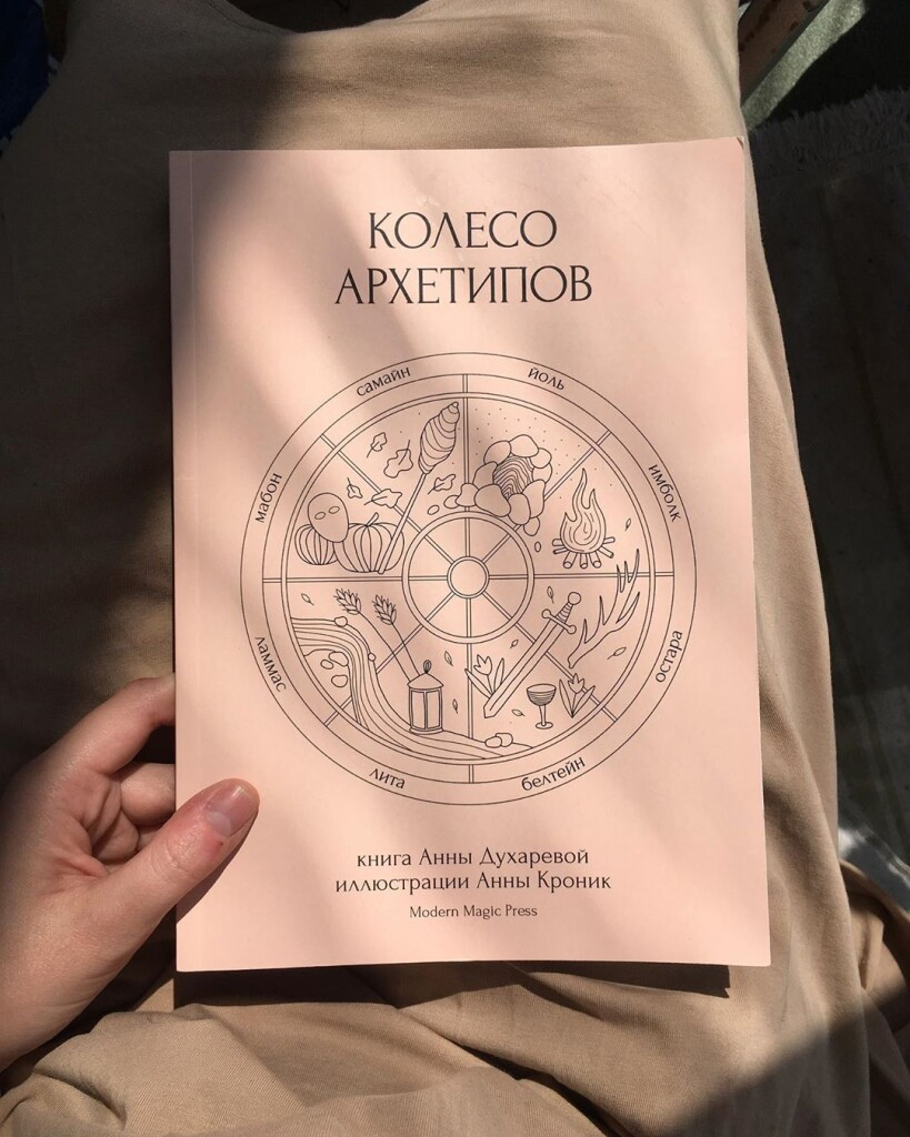 Колесо Архетипов книга издательство Modern Magic Press