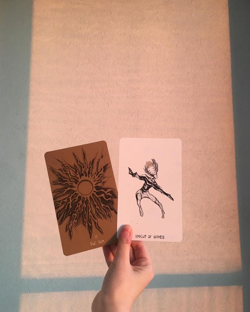 Tarot of the Golden Kernel Modern Magic Press Таро Золотого Стержня