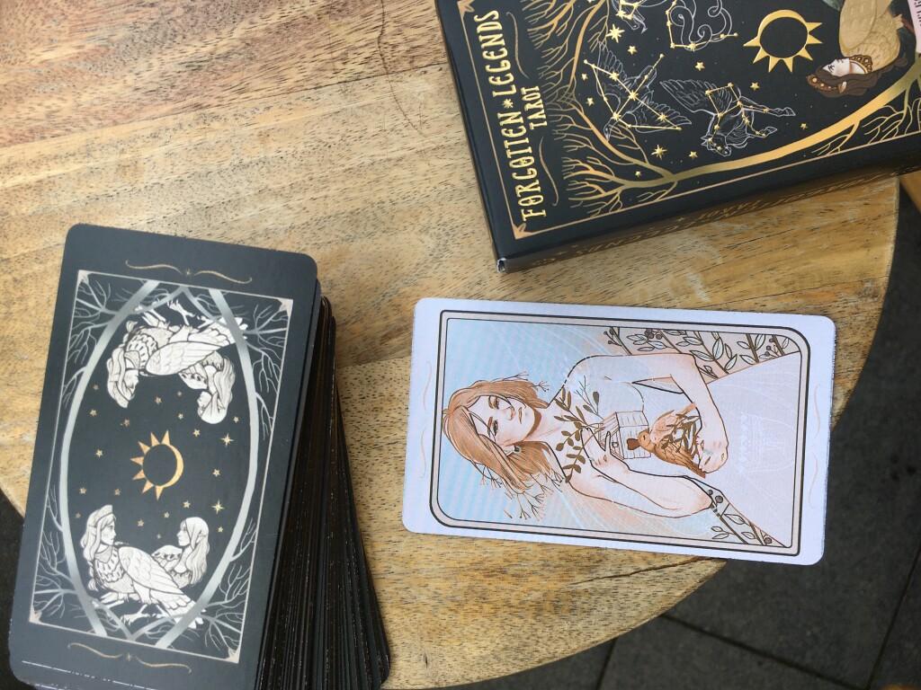 Таро Забытых Легенд Forgotten Legends tarot Modern Magic Press