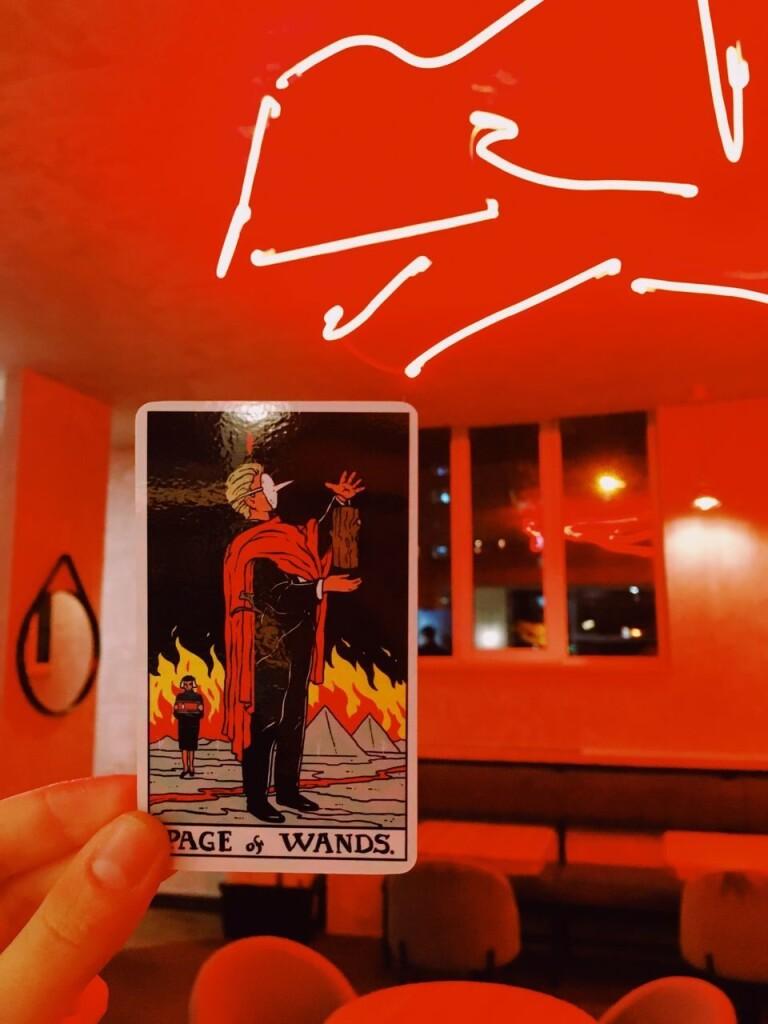 Twin Peaks tarot Твин Пикс таро